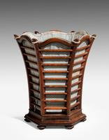 Late 19th Century Mahogany Waste Paper Basket (2 of 2)