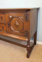 Antique Oak Sideboard Dresser Base (8 of 13)