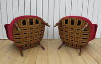 Pair of Antique French Button Back Chairs (8 of 9)