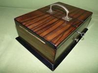 Macassar Ebony Jewellery / Trinket / Cigar Box c.1900 (5 of 11)