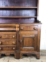 Antique 19th Century Oak Dresser (8 of 16)