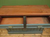 Antique Painted Bohemian Blue Edwardian Sideboard (7 of 22)