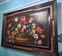 18th Century Flemish Painting, Oil on Panel (2 of 10)
