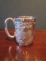 Edwardian Solid Silver Christening Mug (7 of 7)