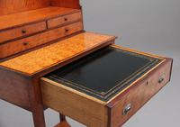 19th Century  Satinwood Ladies Writing Table in the Sheraton Style (9 of 15)