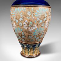 Antique Decorative Vase, English, Ceramic, Display, Art Nouveau, Edwardian, 1910 (9 of 12)