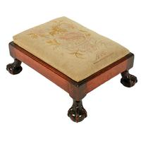 Pair of Chippendale Style Foot Stools (6 of 8)