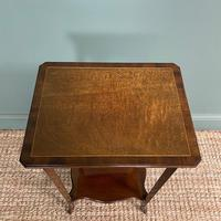 Superb Quality Mahogany Wine Table / Lamp Table by John Taylor (6 of 6)