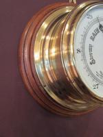Antique Barker of London Bulkhead Marine Barometer (3 of 5)