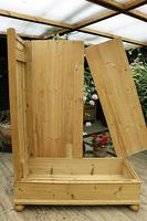 Fabulous Old Pine Knock Down 'arts & Crafts' Double Wardrobe  - We Deliver & Assemble! (13 of 16)