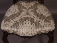 Fantastic Set of 6 Victorian Walnut Dining Chairs (9 of 14)