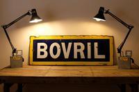 Large Antique Bovril Vitreous Enamel Sign (10 of 13)