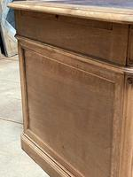 Quality 19th Century French Bleached Pedestal Desk (22 of 25)