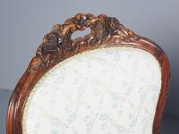 Antique Pair of French Rosewood Armchairs (8 of 19)