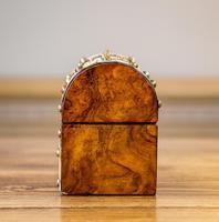 Burr Walnut Perfume Box 1870 (3 of 13)