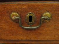 Antique Country Oak Chest of Drawers, 18th Century Chest in 2 Parts (3 of 17)