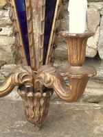 Pair of Antique Venetian Gilt Wall Lights (4 of 5)