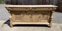 Wonderful Art Nouveau Bleached Oak Sideboard (4 of 26)