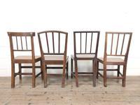 Four Similar 19th Century Stick Back Farmhouse Chairs (7 of 7)