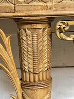 Wonderful French Walnut Console Table (23 of 36)