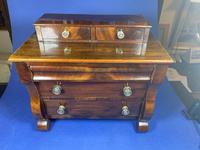Victorian Miniature Mahogany Scotch Chest of  Drawers (15 of 16)