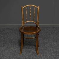 Set of Four Bentwood Chairs by Mundus and J+J Kohn LTD (4 of 9)