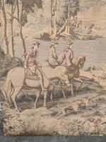 Superb 19th Century Tapestry Depicting Hunting Scene (7 of 7)