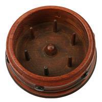 Circular Mahogany Bobbin Caddy (6 of 8)