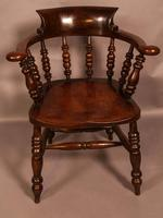 Harlequin Set of 6 Victorian Captains Chairs (3 of 10)