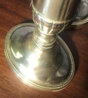 Pair of Georgian Brass Candlesticks (5 of 5)