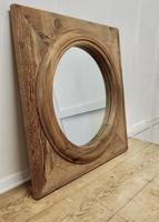 Large Stripped Pine Wall Mirror (5 of 6)