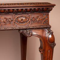 Superb Quality Mahogany Chippendale Design Writing Table (6 of 23)