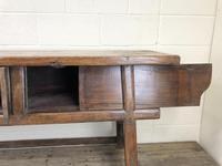 Unusual Oriental Elm Altar Table Sideboard (11 of 18)