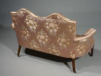 Elegant Late 19th Century Boudoir Sofa (3 of 6)