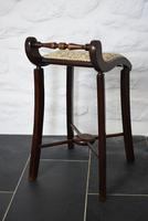 Victorian Mahogany Cello Stool (4 of 10)