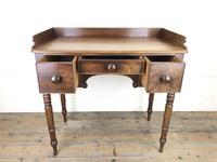 Antique Victorian Mahogany Ladies Writing Desk (15 of 17)