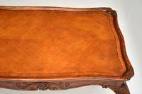 Antique French Carved Satinwood Occasional Table (12 of 12)