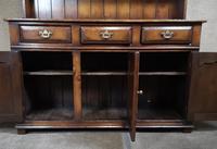 Titchmarsh & Goodwin Oak Dresser & Rack (12 of 15)