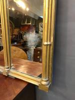 C19th Gilt Overmantel Mirror (6 of 14)