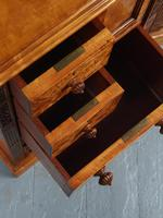 Antique Pair of Satinwood Bedside Cabinets by M. Woodburn (12 of 13)