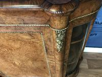 Victorian Burr Walnut Inlaid Credenza With Ormolu Mounts (16 of 27)