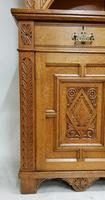 Oak Arts & Crafts Aesthetic, Cabinet Bookcase (5 of 10)