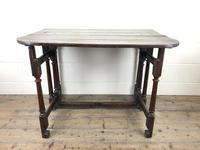 Early 18th Century Oak Gateleg Table (4 of 11)