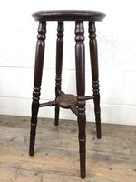 Late Victorian Stained Pine Jardiniere Plant Stand (6 of 7)