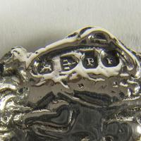 Victorian Miniature Silver Chair with Cherubs (7 of 8)