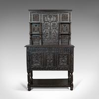 Antique Charles II Revival Dresser, English, Oak, Sideboard, Victorian c.1880 (3 of 10)