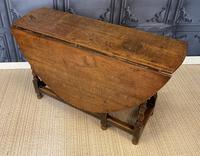 Period Oak Drop Leaf Table