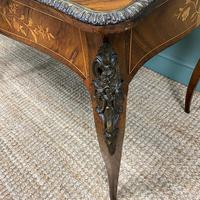 Stunning Large 19th Century Kingwood Antique Writing Table (4 of 8)