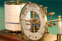 Drum Barograph & Barometer by Negretti & Zambra No 455 c.1918 (5 of 12)