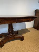 George IV Rosewood Pedestal Sofa Table (11 of 14)